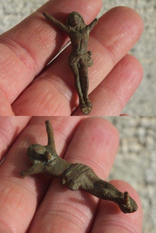 Christ en bronze - XIX/XXème 04c7154c