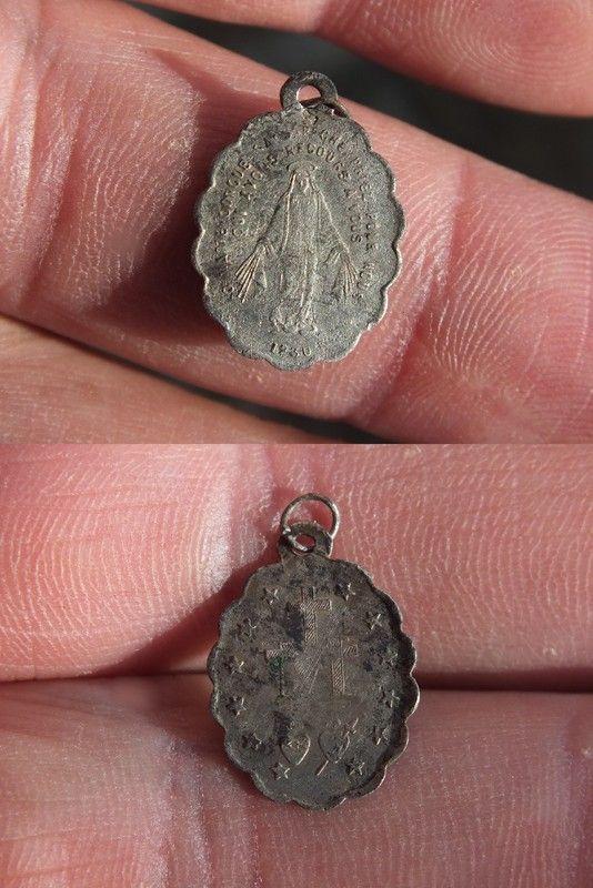 Medaille miraculeuse de la rue du Bac XIX-XX ième siècle 261bf98e