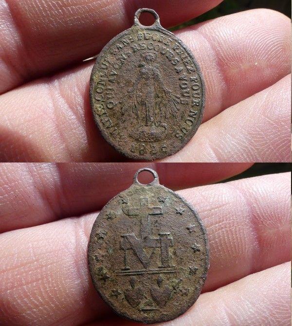 Medaille miraculeuse de la rue du Bac XIX ième siècle 67869c08