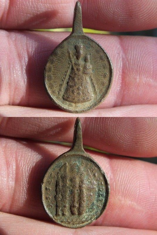 Medaille de l'abbaye d'Einsiedeln (Suisse), XVII-XVIII 7b553f09