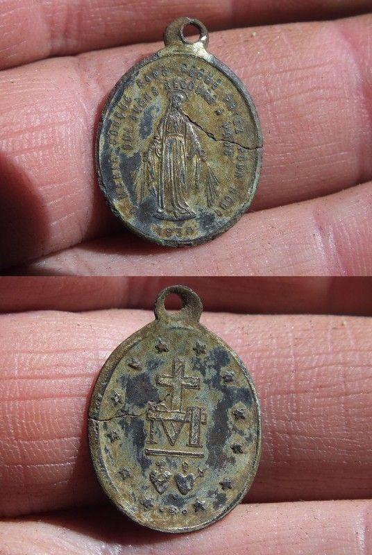 Medaille miraculeuse de la rue du Bac XIX-XX ième siècle 9d789658