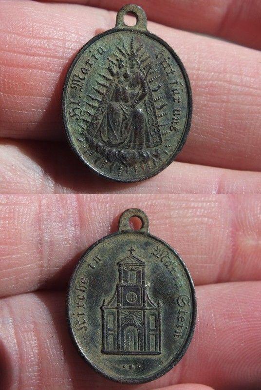 Médaille Suisse pour Maria Stein - XIX / XXème B2bf124c
