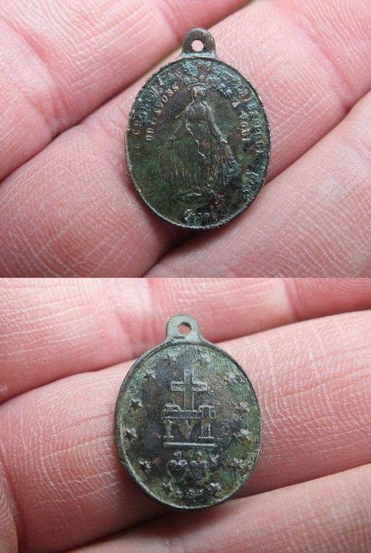 Médaille miraculeuse rue du Bac XIX ième  Cd039279