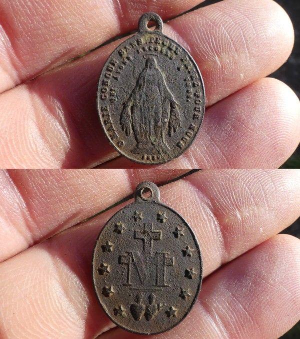 Medaille miraculeuse de la rue du Bac XIX-XX ième siècle E06fa633