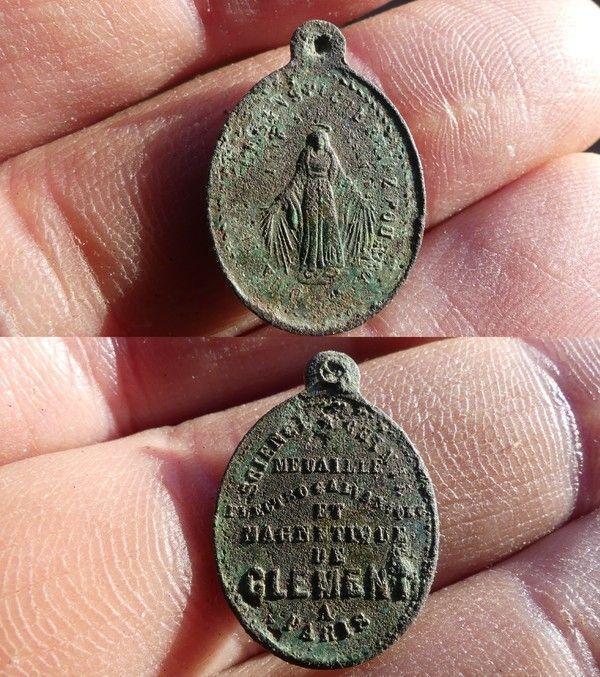 Médaille Electrogalvanique de Clément à Paris E1d8457d