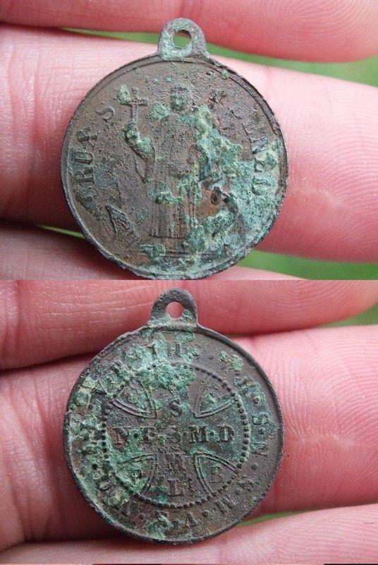 Medaille de St Benoit ou medaille des sorciers E441e36a