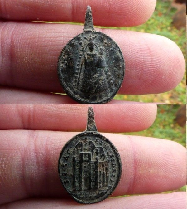 Medaille de l'abbaye d'Einsiedeln (Suisse), XVII-XVIII F5ba0c47