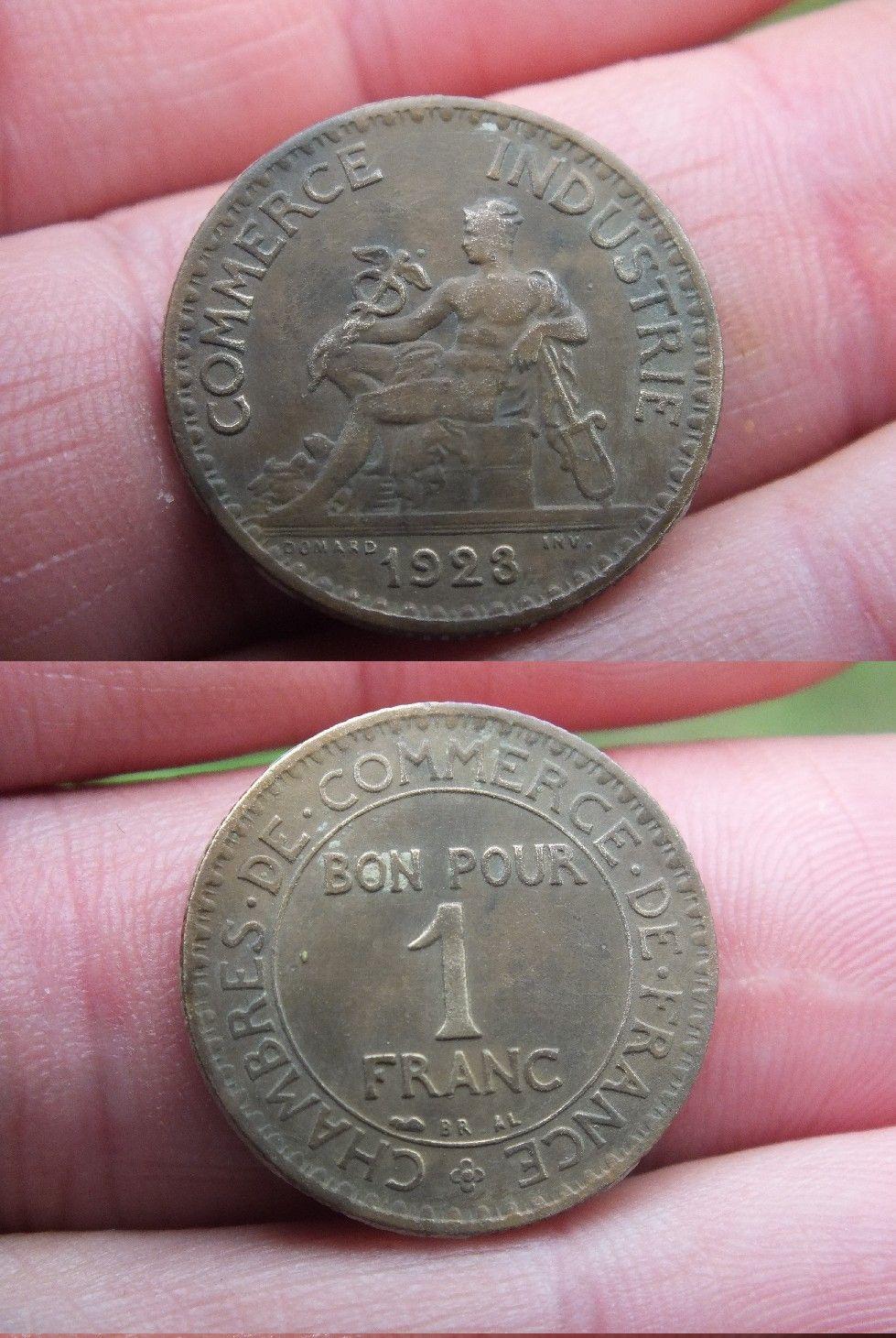 Chambre de commerce bon pour 1 franc 1923 for Bon pour 1 franc chambre de commerce